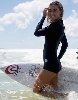 Ripcurl Womens Madi Long Sleeve Boyleg 1mm Neoprene Spring Suit,