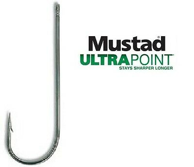 Mustad 3261NP-BN Aberdeens Hooks in Bags of 5 to 10 hooks.