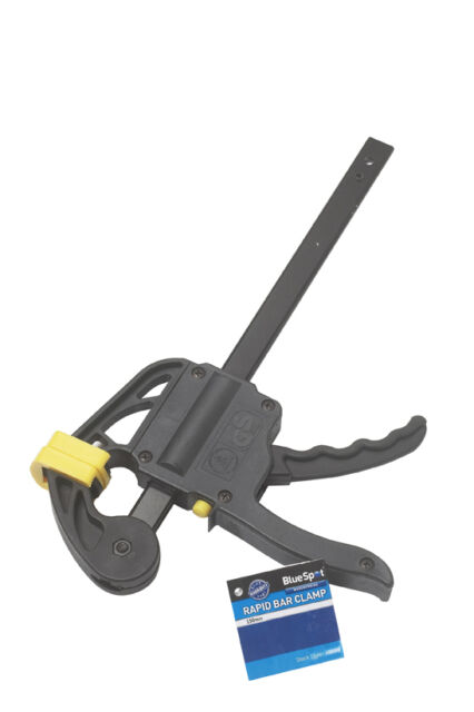 150mm Quick Release Ratchet Bar Clamp Holder Vise Carpenters Wood GS Approved