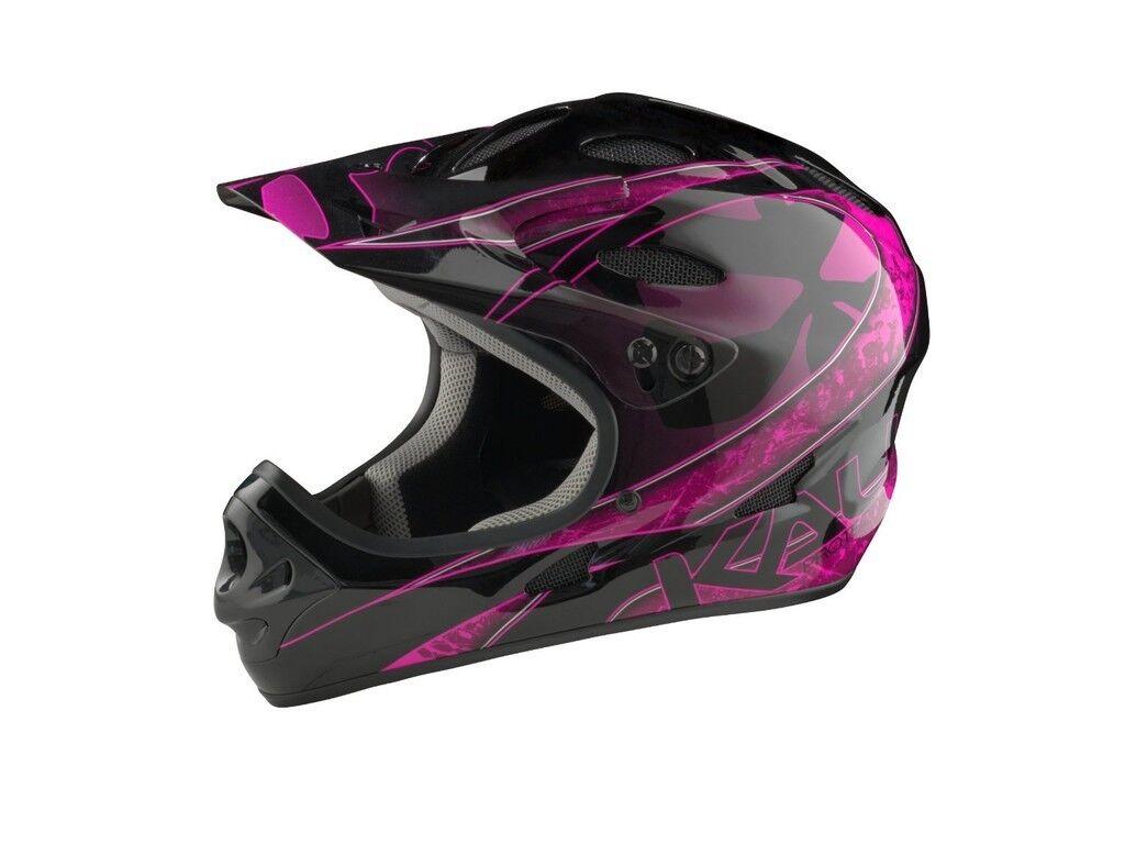 Kali Prossoectives US Savara Masquerade Magenta DH Helmet
