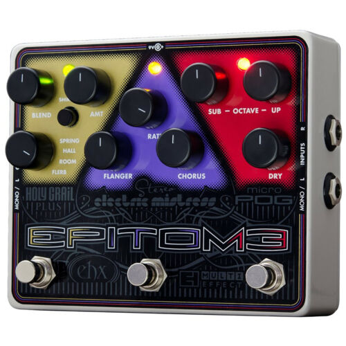 Electro-Harmonix EPITOME Multi-Effects Pedal with Power Supply