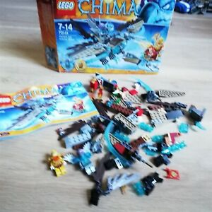 LEGO-Chima-Vardy-039-s-Ice-Vulture-Glider-70141-Excellent