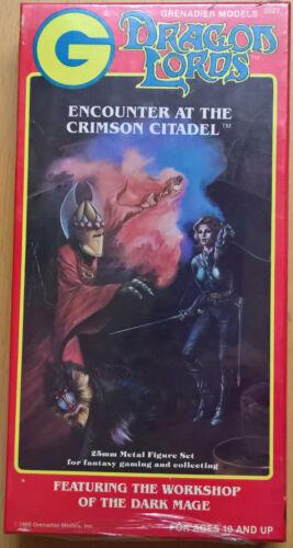 Mint, Sealed 2027 Encounter at the Crimson Citadel Grenadier Dragon Lords