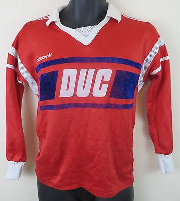 Frugale Vintage Adidas 80s Calcio Camicia 3 Stripe Retrò Soccer Jersey Vintage Trikot Piccolo-mostra Il Titolo Originale