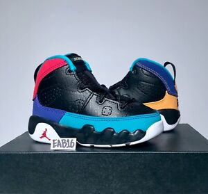 160256a941499a Nike Air Jordan Retro IX 9 Dream It Do It Black Yellow Red Infant ...