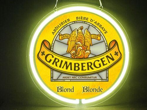 Grimbergen Beer Hub Bar Display Advertising Neon Sign