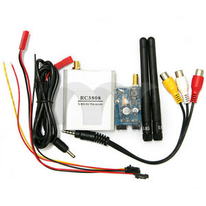 FPV-5-8G-200mw-RC5808-Receiver-amp-TS58200-Transmitter-Airplane-Receiver-System-Kits
