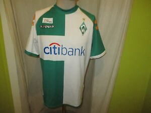 Werder-Bremen-Original-Kappa-Heim-Trikot-2007-08-034-Citibank-034-Gr-M-L-TOP