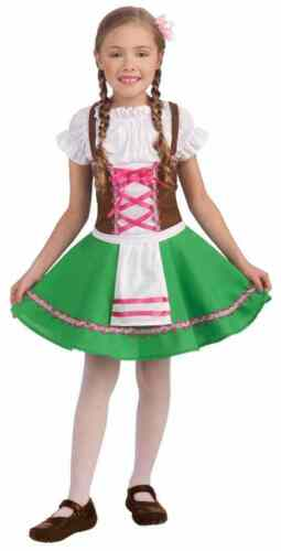 Gretel Oktoberfest German Beer Garden Fancy Dress Up Halloween Child Costume