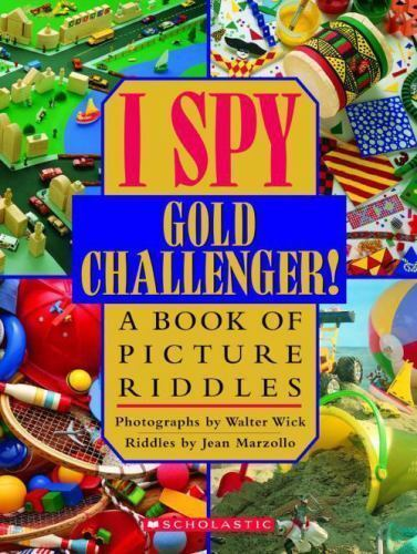 I Spy Gold Challenger  A Book Of Picture Riddles By -6207