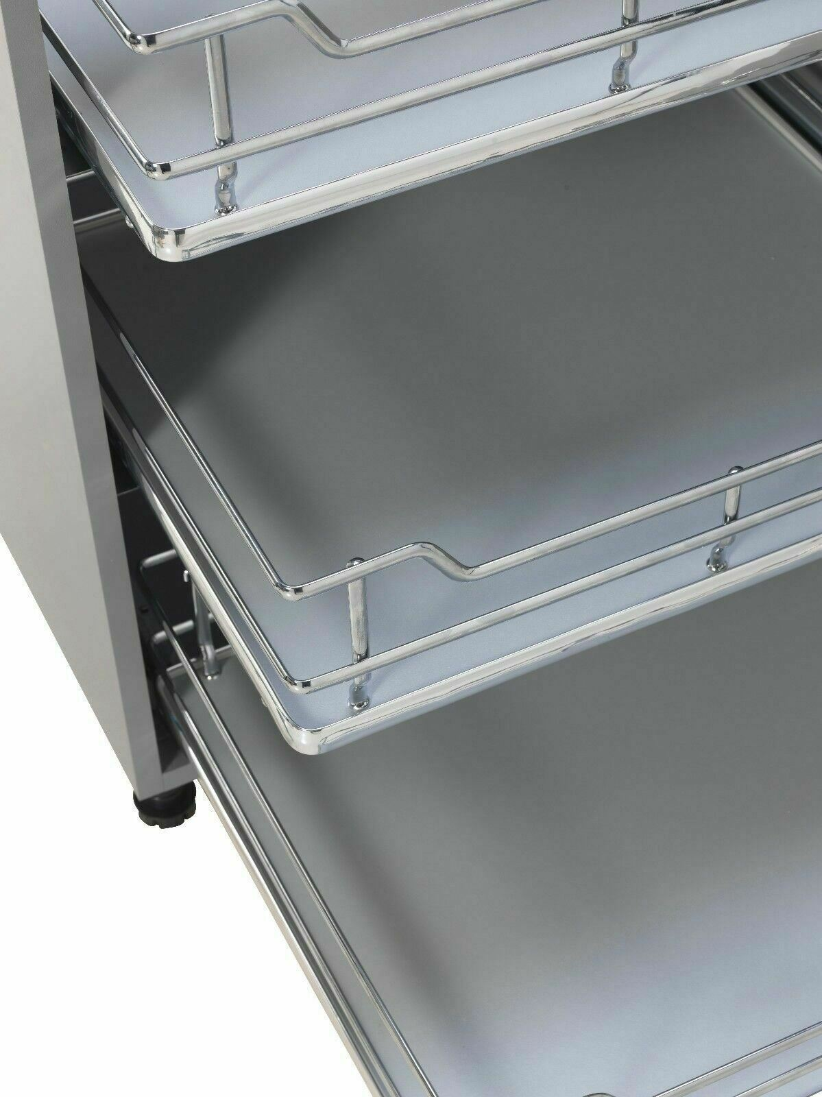 300 to 1000mm Kitchen Base Pull Out Internal Single Drawer Soft Closing Luxury
