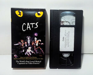 Details about CATS The Musical (VHS 1998) SCREENER PROMO DEMO TAPE , RARE!