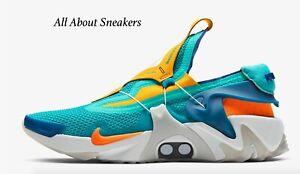 034-Huarache-Nike-Adapt-Jade-Spirito-Hyper-034-Uomo-T-Scarpe-da-ginnastica-LIMITED-STOCK-Tutte-le