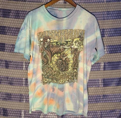Bonnaroo Festival Tie Dye T-Shirt Tool The Flaming
