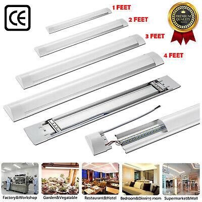 4FT 3FT 2FT LED Batten Tube Light Linear Slimline Panel Ceiling Lights Wall Lamp