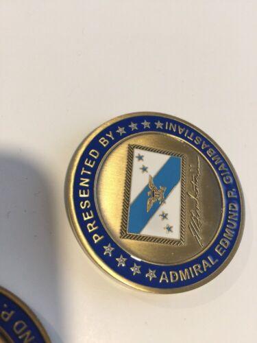 Vice Chairman Joint Chiefs of Staff ADM Edmund P Giambastiani Challenge coin