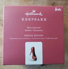 Hallmark Keepsake 2018 Barbie Shoe-sational Special Edition Metal Ornament