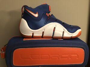 c7427a48090 Image is loading Nike-Zoom-Lebron-4-IV-Birthday-Sz-8-