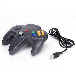 Wired-USB-Controller-Nintendo-N64-Joystick-Games-Gamepad-Joypad-For-N64-PC-bBh