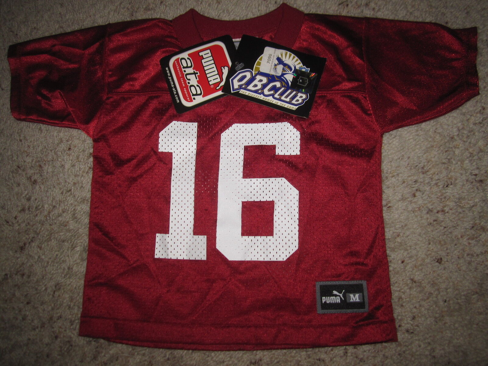 Jake Plummer Arizona Cardinals NFL Puma Camiseta Niño 3t Nuevo