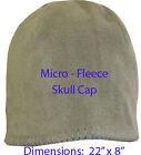 O.D Green Fleece Skull Cap Hat Tactical  Head Warmer