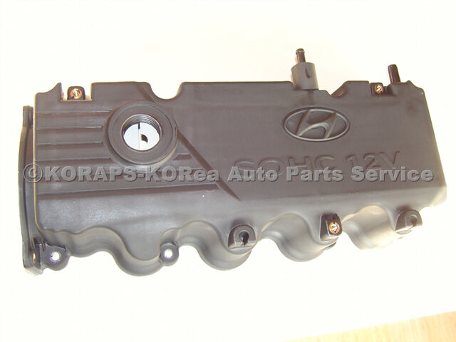 Genuine Engine Valve Cover Fits Hyundai Accent Verna 1.5L SOHC 2000 2001 2002