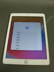 Apple-iPad-A1822-128GB-5th-Gen-Tablet-Computer-Cracked-Screen-For-Repair-NR