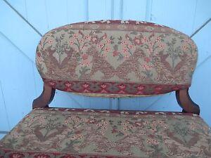 Phenomenal Details About Antique Bench Stool Hollywood Regency Art Deco Bedroom Vanity Animal Figures Uwap Interior Chair Design Uwaporg