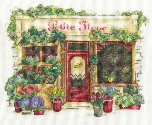 Vintage Le Fleuriste DMC Cross Stitch Kit