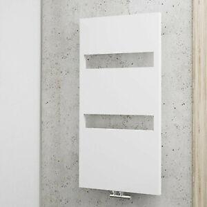 Details zu Schulte Designheizkörper, Badheizkörper Turin, Breite 605 mm,  Farbe weiß