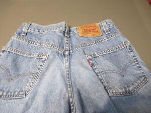 hommes Levi's taille 30 bleu au 550 L format mesurer en 2 Coupe Jeans L denim pour rW8acTr6