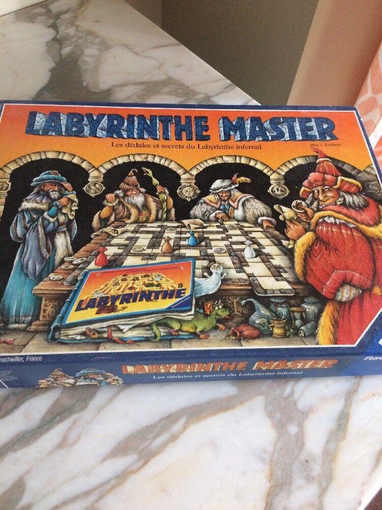 Ravensburger  Labyrinthe Master tavola gioco FRENCH version completare 1991  migliori prezzi e stili più freschi