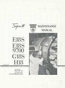 BEECH-SUPER-18-MAINTENANCE-MANUAL-FOR-E18S-E18-9700-G18S-H18-1954-1964