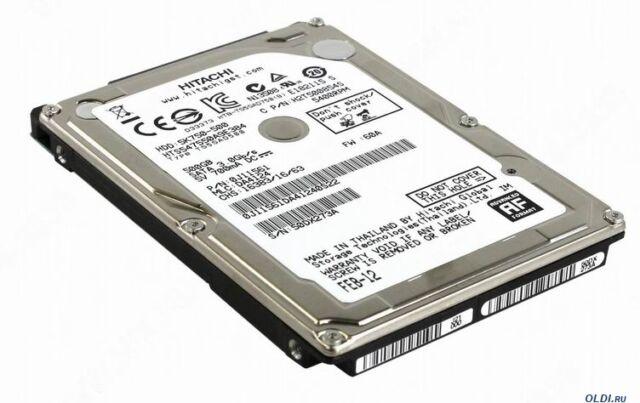 500GB 6.3cm SATA HDD Disco Rigido Interno Disco per Laptop UK 5400RPM 9.5mm