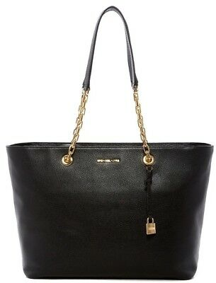 00f6ba651332be Michael Kors Mercer Chain Luggage Leather Shoulder Tote Bag for sale ...