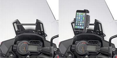 porta GPS-smartphone Suzuki DL 650 V-Strom 2017/> Traversino montare S902A