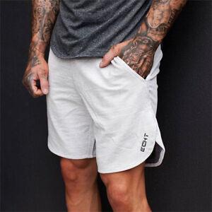 Para-hombres-Entrenamiento-Deportivo-Verano-Shorts-Workout-Entrenamiento-Gimnasio-Playa-Pantalones