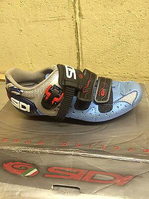 Sidi Genius 5 Women/'s Mesh Blue//Silver Road Cycling Shoes