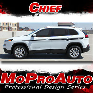 Image Is Loading 2017 2016 Jeep Cherokee Chief Decals
