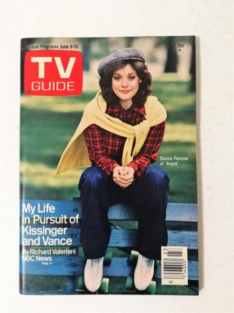 TV Guide June 9-15, 1979 #1367 - Henry Kissinger - Dirk Benedict - No Label