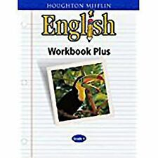 Houghton Mifflin English: Houghton Mifflin English, Level 4 : Workbook Plus by Houghton (2000, Paperback)