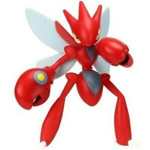 Pokemon-Figure-Action-Scizor-10cm-Bataille-Figurine-Original-Wct-Cizayox-Scherox