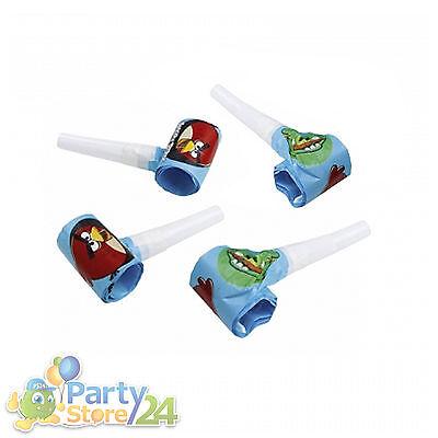 Angry Birds Tröten Kindergeburtstag Geburtstag Party Deko Geburtstagsparty Kidz