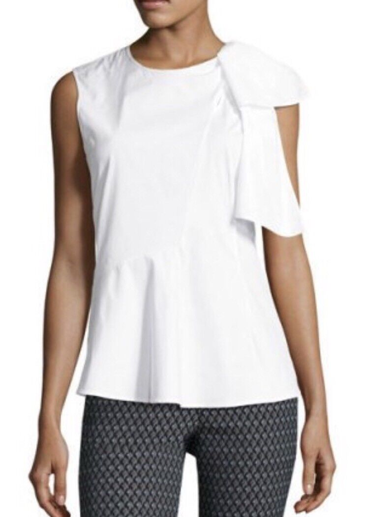 Woherren THEORY Bow Top    blouse NWT M