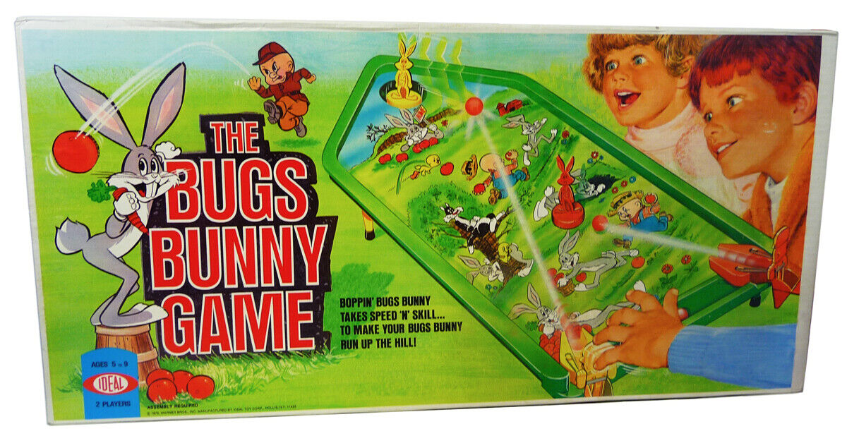 Vintage THE BUGS BUNNY GAME (1975) Ideal SEALED