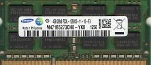 4GB Memory DDR3 for FUJITSU-SIEMENS Lifebook T series T5010 New