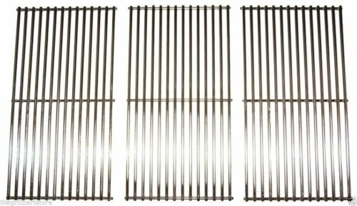 """Sams Club Gas Grill Stainless Steel Set Cooking Grates 32 3//8/"""" x 19 1//8/"""" 506S3"""