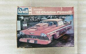 New Skill 2 Model Kit 1958 Plymouth Fury Christine Movie 1//25 Scale Model Mint