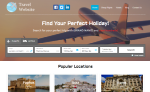 Travel-Agency-Website-Earn-Hundreds-Per-Sale-Free-Domain-amp-Easy-to-Manage