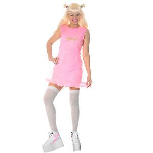 90s-Spice-Girl-Popstar-Disco-Baby-Ladies-Pop-Costume-Pink-Fancy-Dress-Halloween